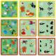 Janod Logická hra pre deti Obrázky z džungle