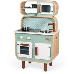 Janod Dětská dřevěná kuchyňka Reverso oboustranná