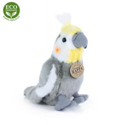 Rappa Plyšový papoušek korela chocholatá 20 cm ECO-FRIENDLY