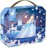 Puzzle pro děti Ledová královna Janod v kufříku 54 ks