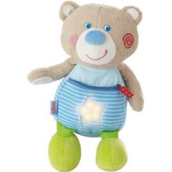 Haba Plyšový usínací medvěd se světýlkem