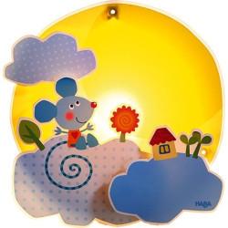 Haba Noční světlo / lampička - myš v oblacích