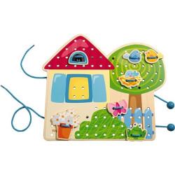 Haba Provlékací hra zahradní domek