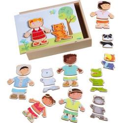 Haba Puzzle / skládačka děti a zvířátka