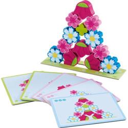 Haba Stohovací hra kouzelné květiny