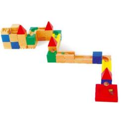 Small Foot Sada stavebních kostek kuličková dráha