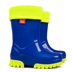 Demar Twister Lux Fluo A (modré) - Dětské gumáky