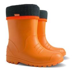 Demar DINO C (oranžové) - Dětské gumáky