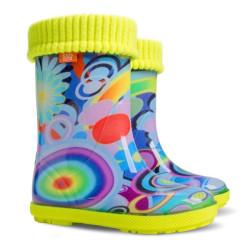 Demar Hawai lux exclusive EC (rainbow) - Dětské gumáky