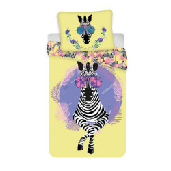 Jerry Fabrics povlečení Zebra 140x200 70x90
