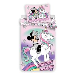 Jerry Fabrics povlečení Minnie Unicorn 140x200 70x90