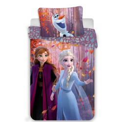 """Jerry Fabrics povlečení Frozen 2 """"Sister Purple"""", 140x200 70x90"""