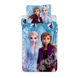 """Jerry Fabrics povlečení Frozen 2 """"Snowflake"""" 140x200 70x90"""