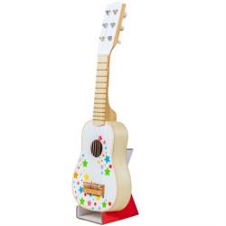 Bigjigs Toys Dřevěná kytara star